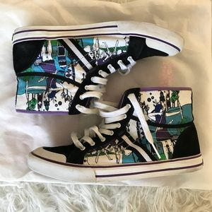 d4882d202bad30 Vans Shoes - Vans Wellesley Lace Up High Tops Sneakers